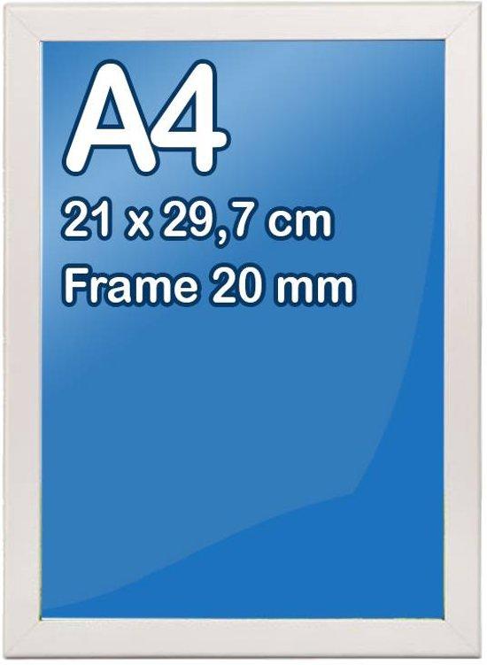 bol | kliklijst a4-formaat 21 x 29,7 cm, frame 20 mm