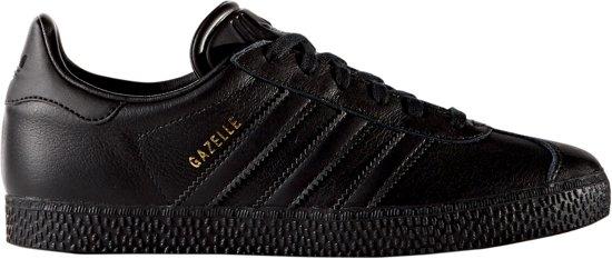 027b0f83def bol.com | Adidas Jongens Sneakers Gazelle Kids - Zwart - Maat 38⅔