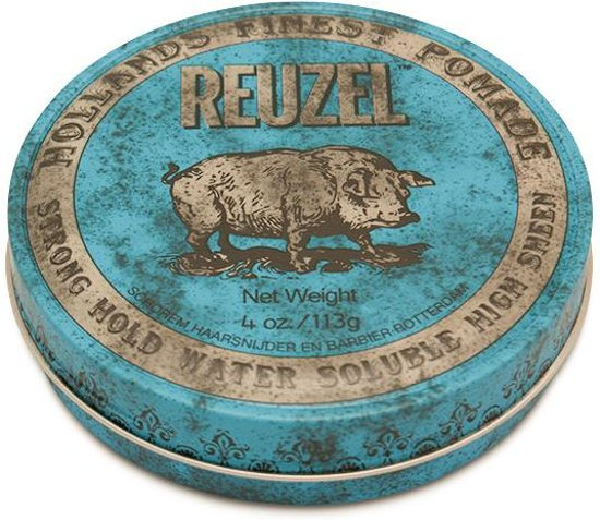 Reuzel Hf Pomade Strong Hold Water - Blue 113 gr