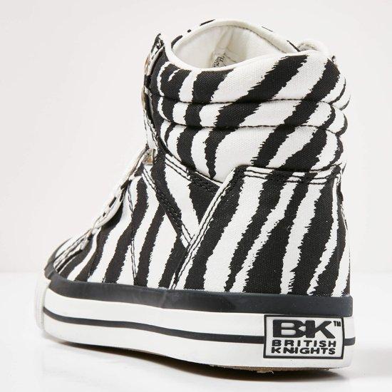 British Knights Dee Dames Sneakers Hoog - Zwart Maat 38