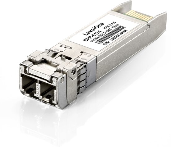 LevelOne SFP-6121 Vezel-optiek 1310nm 10000Mbit/s SFP+ netwerk transceiver module
