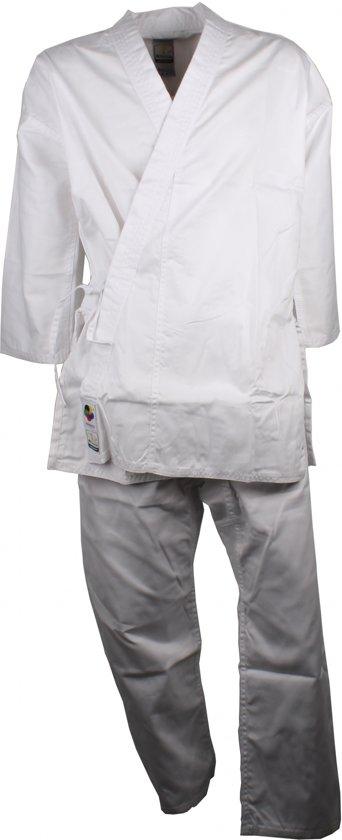 Arawaza Karatepak Lightweight Eko Wkf Wit Unisex Maat 180