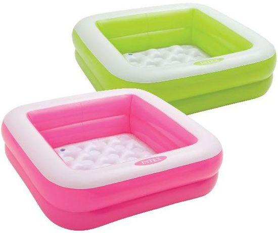 Zwembad opblaasbaar. Intex roze: 85x85x23 cm