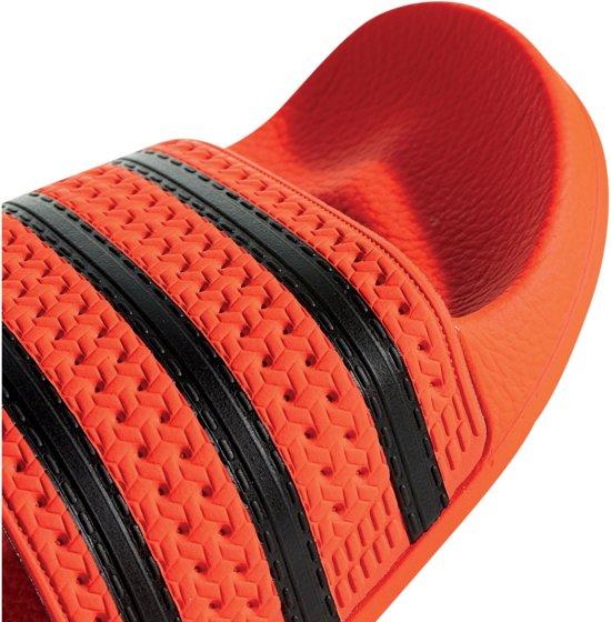 40 5 Maat zwart Slipper Slippers Adilette Oranje Unisex Adidas wtqF1XIfxn