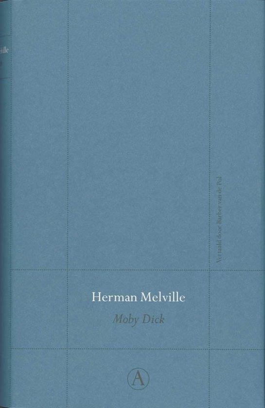 Boek cover Perpetua reeks - Moby Dick van Herman Melville (Hardcover)