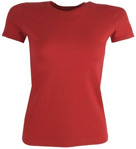 T-Shirt women rood M