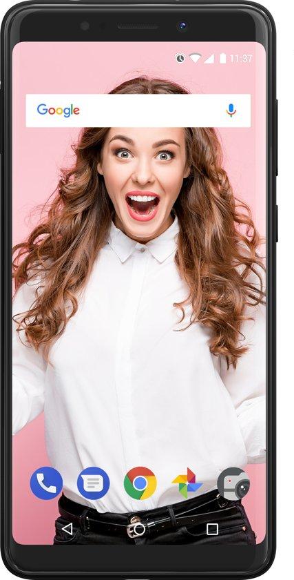 Wiko View Lite - 16GB - Dual Sim - Grijs