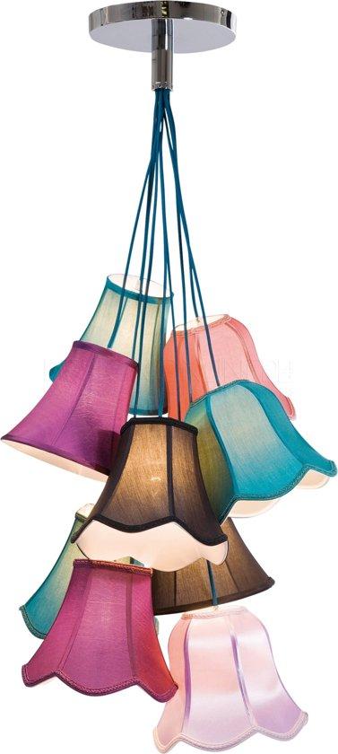 kare design saloon uni hanglamp 9 kapjes 95 cm hoog. Black Bedroom Furniture Sets. Home Design Ideas