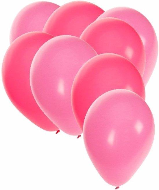 bol | 30x ballonnen roze en lichtroze, shoppartners | speelgoed
