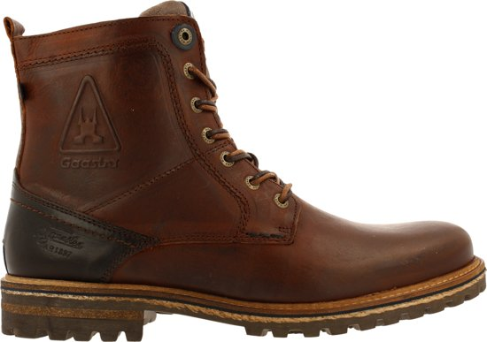 Gaastra Heren Veterboots Cape High - Cognac - Maat 41
