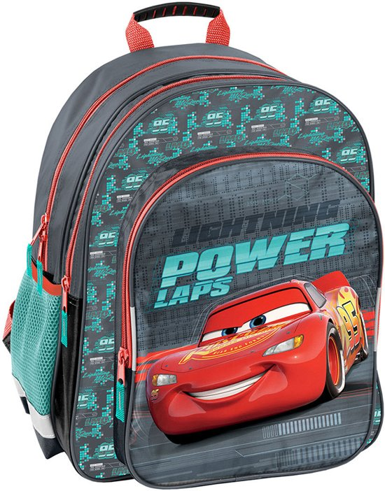 0c9cb320696 Disney Cars Lightning Power Laps - Rugzak - 38 x 29 x 20 cm - Multi