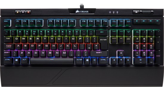 60cf406f96adef Corsair Strafe RGB MK.2 - Qwerty - Cherry MX Silent - Mechanisch Gaming  Toetsenbord