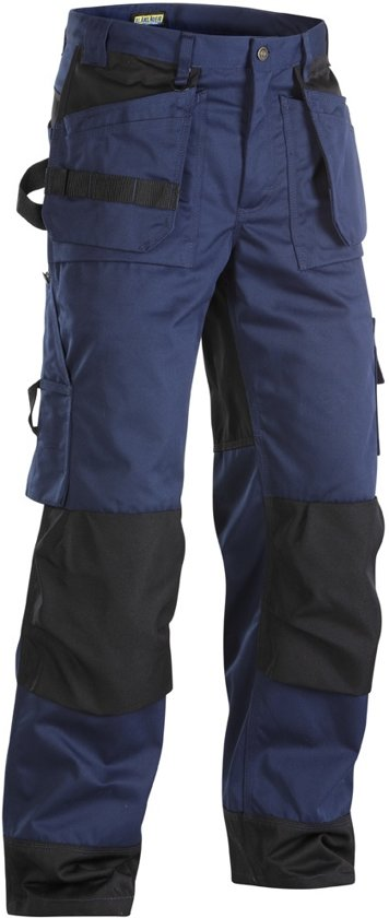 Blaklader Werkbroeken met kniestukken Marineblauw/ZwartNL:44 BE:38