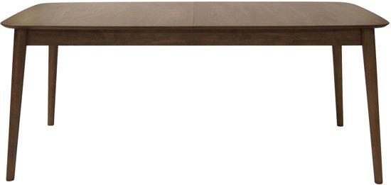 Walnoot Houten Eettafel.Bol Com 24designs Montreal Uitschuifbare Eettafel 180