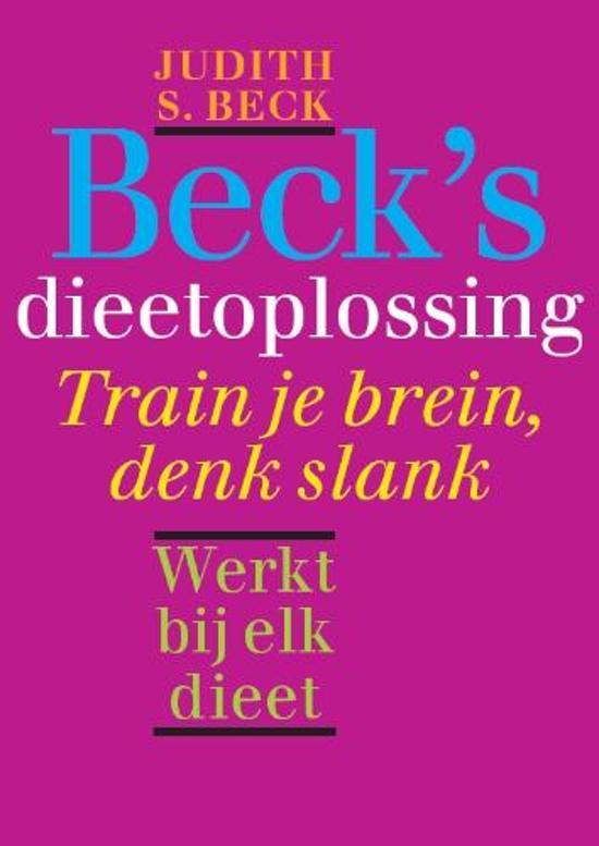 Beck's dieetoplossing