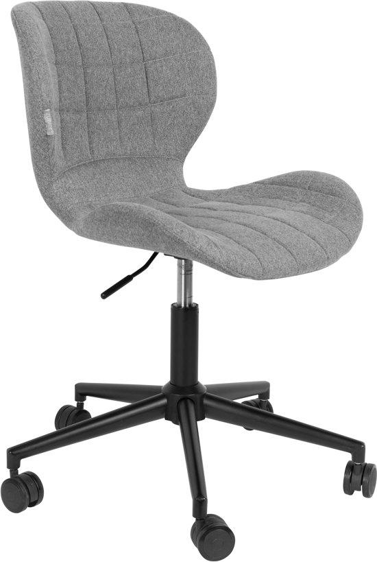 Fijne Zwarte Bureaustoel.Zuiver Omg Office Bureaustoel Zwart Grijs