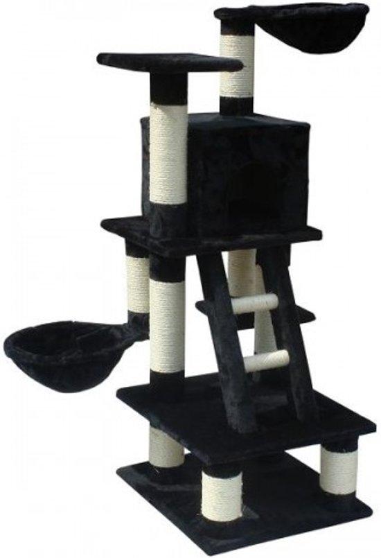 Topmast Krabpaal Tom  zwart 49 * 44 * 122 cm
