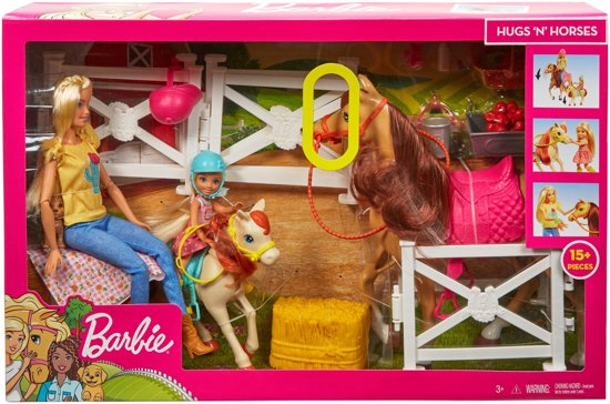 Barbie Paard & Pony - Barbiepop