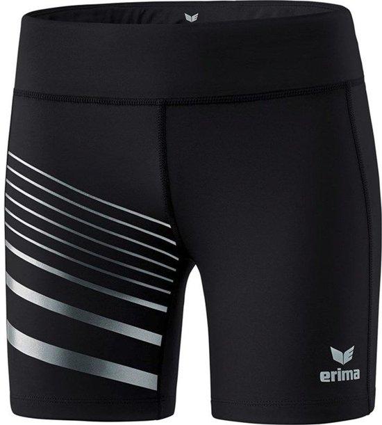 Erima Race Line 2.0 Dames Tight - Shorts  - zwart - 38