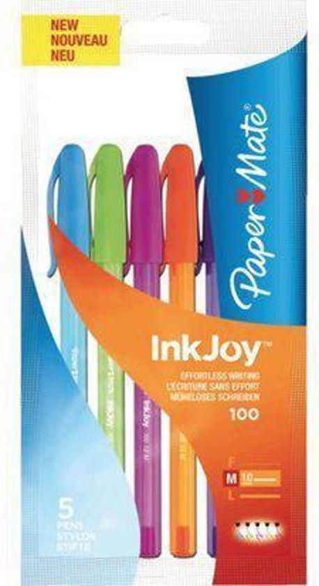 Balpen Papermate Inkjoy 100 Color Assorti