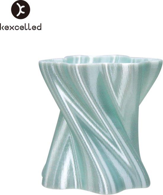kexcelled-PLAsilk-1.75mm-groen/green-500g(0.5kg)-3d printing