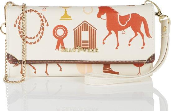 Kleine Paarden 0476 Clutchtas Schoudertasfw En SchouderriemDames Met Shagwear Polsband dCtxhQsrB