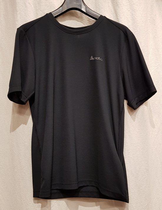 Odlo George t-shirt s/s, crew neck zwart Maat M