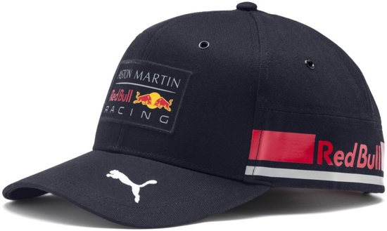 PUMA Red Bull Racing Replica Team Cap Cap Unisex - Night Sky-chinese Red