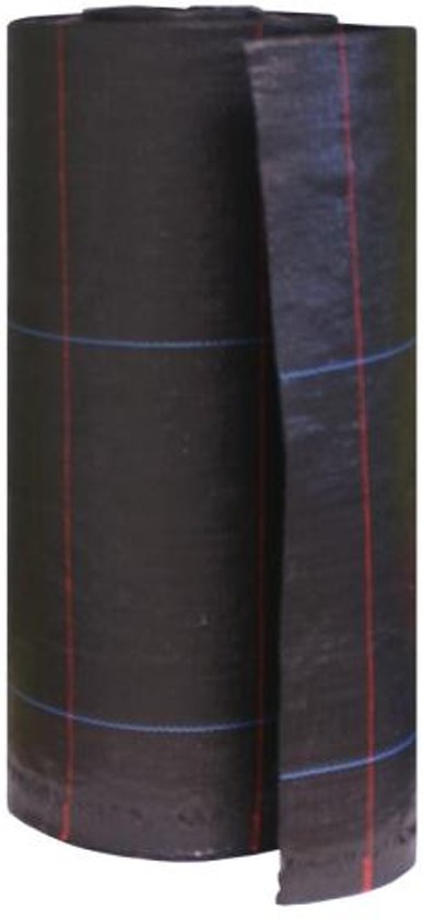 Anti-onkruiddoek antiworteldoek -Gronddoek tegen onkruid - 100 gr p/m² - 1.05 x 100 m ZWART