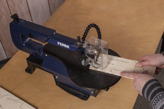 FERM Figuurzaagmachine 120W - SSM1007