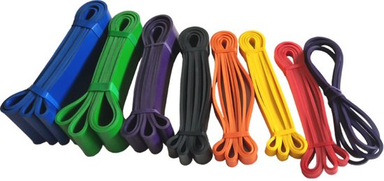 Resistance Band / Power Band - XL - Paars - 22-55KG