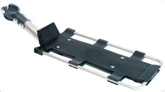 Roto Bagagedrager Piuma 24-28 Inch Aluminium Zwart/zilver