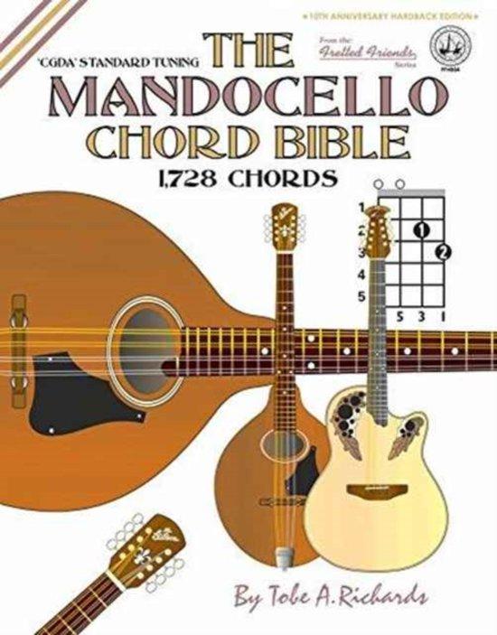 Bol The Mandocello Chord Bible Cgda Standar Tobe A Richards