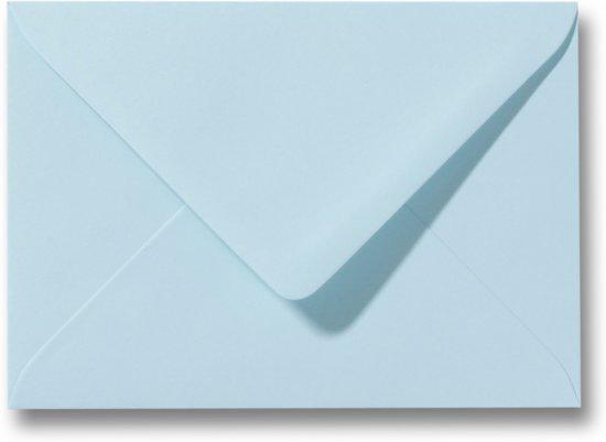 Envelop 15,6 X 22  Laguneblauw, 60 stuks