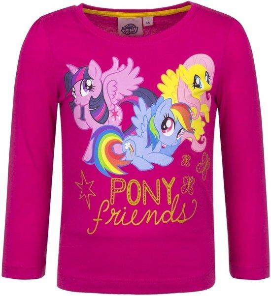 5329ff47268 My Little Pony shirt fuchsia lange mouwen 98 (3 jaar) - voor meisjes