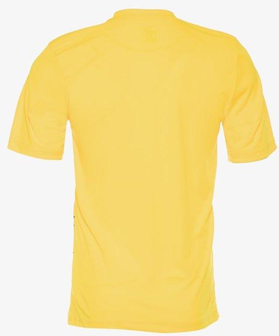 Puma FTBL Play kinder voetbal t shirt Geel Maat 134140