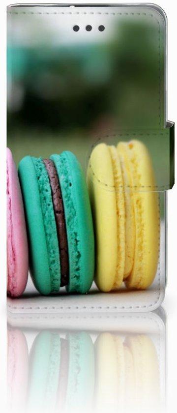 LG L70 Uniek Hoesje met Opbergvakjes Macarons in Nieuw-Heeten