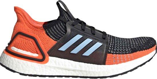 adidas UltraBoost 19 Sportschoenen - Maat 39 1/3 - Vrouwen - zwart/oranje/blauw