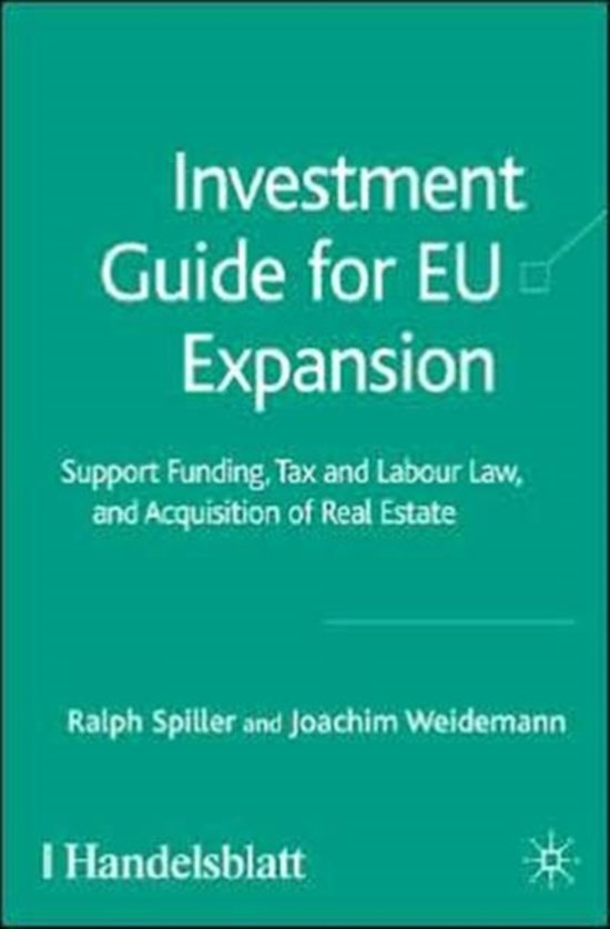 Investment Guide for EU Expansion
