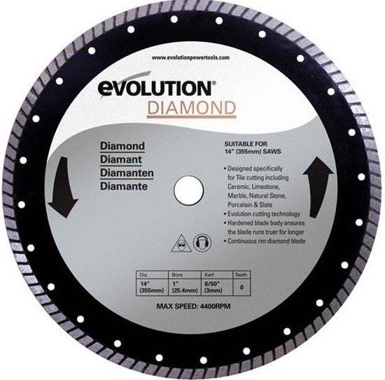 Evolution Rage 3-B 230V 210mm zaagblad