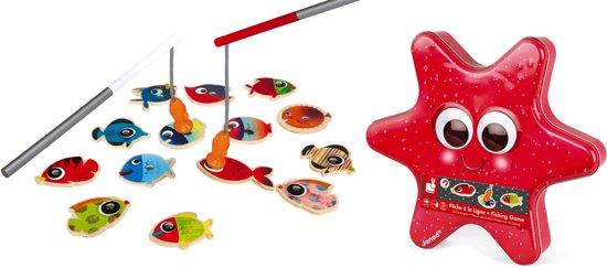Afbeelding van het spel Janod Spel - behendigheid - visspel zeester
