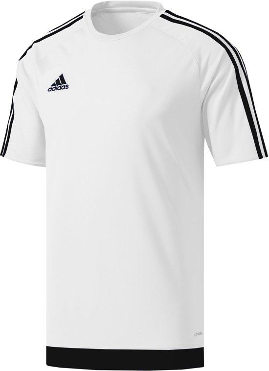 adidas Estro 15 Jersey Junior Sportshirt - Maat 152  - Unisex - wit/zwart