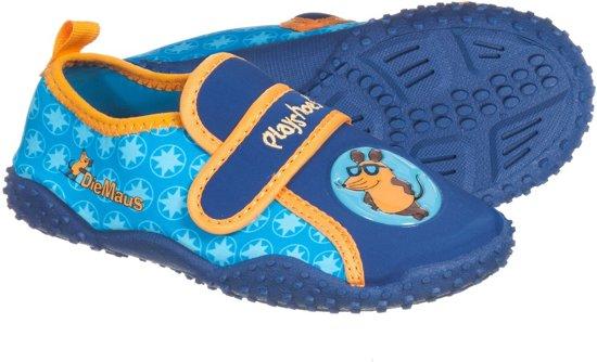 Playshoes UV waterschoenen Kinderen -  Mouse - Blauw - Maat 26/27