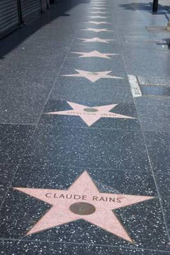 Hollywood Walk of Fame Journal Star