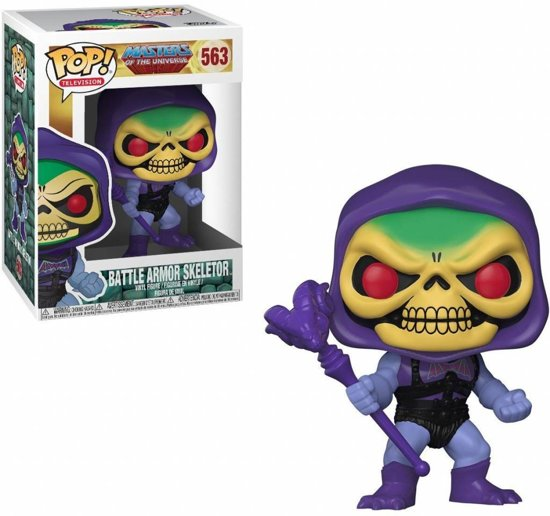Funko Pop! Masters Of The Universe Skeletor With Battle Armor Vinyl Figure - Verzamelfiguur