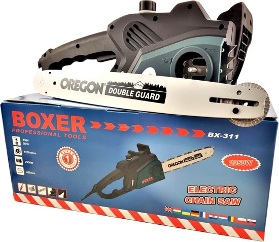 BOXER BX-311 Kettingzaag – 2950 W – 40,5 cm zwaardlengte