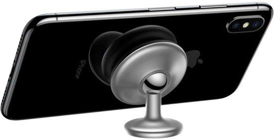Baseus Magnetische Dashboard - 360 graden verstelbaar - Star Ring Silver