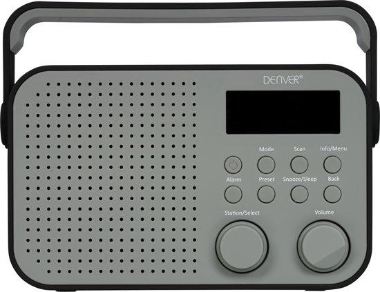 Meget bol.com | Denver DAB-39 Zwart, DAB+/FM radio met AUX input, Zwart BB24