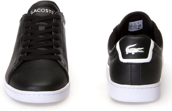 Zwart wit Evo 41 Sneakers Bl Lacoste Mannen Carnaby 1 Maat 5znS85xqZP