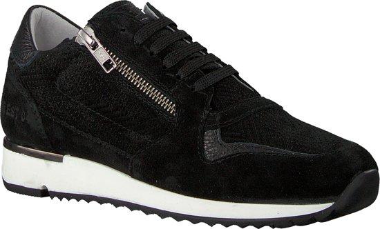 39 Zwart Dames Maat 76560 Red Sneakers Rag YqI1I